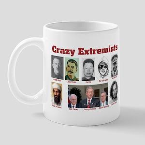 Crazy Extremists Mug