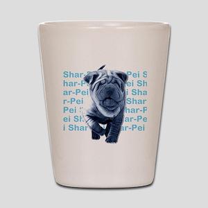 Shar-Pei Shot Glass