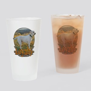 Labrador loyalty Drinking Glass