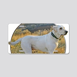 Labrador loyalty Aluminum License Plate