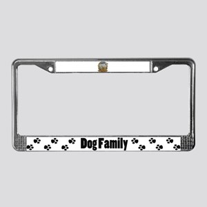 Labrador loyalty License Plate Frame