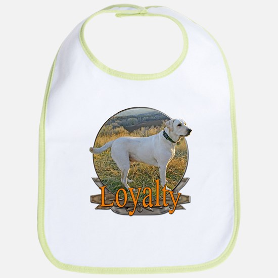 Labrador loyalty Bib