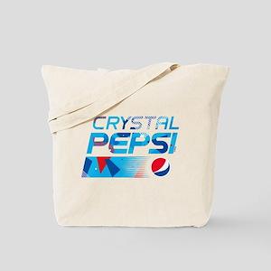 Crystal Pepsi Tote Bag