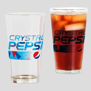 Crystal Pepsi Drinking Glass