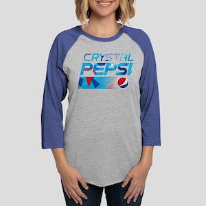 Crystal Pepsi Womens Baseball Tee