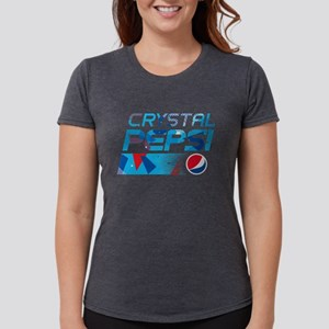 Crystal Pepsi Womens Tri-blend T-Shirt