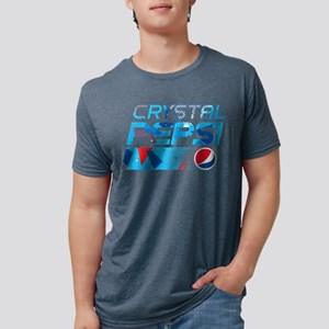 Crystal Pepsi Mens Tri-blend T-Shirt