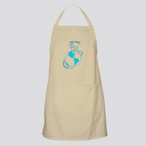 Pit Bull, Globe, and Anchor (Teal) Apron