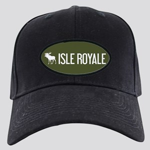 Isle Royale Moose Black Cap with Patch