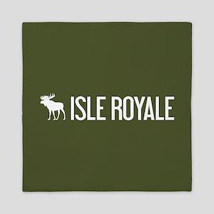 Isle Royale Moose Queen Duvet