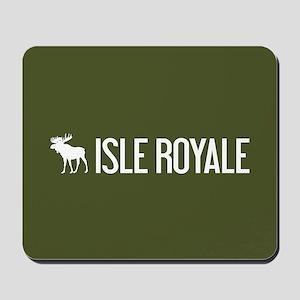 Isle Royale Moose Mousepad