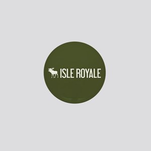 Isle Royale Moose Mini Button