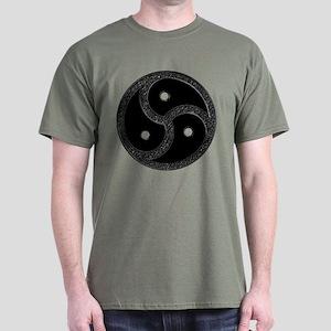 BDSM Emblem - Chrome Look Dark T-Shirt