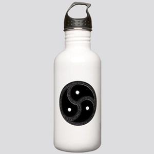 BDSM Emblem - Chrome Look Stainless Water Bottle 1