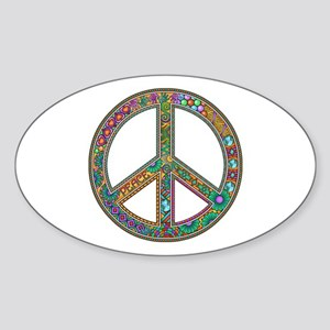 Peace Sticker (Oval)