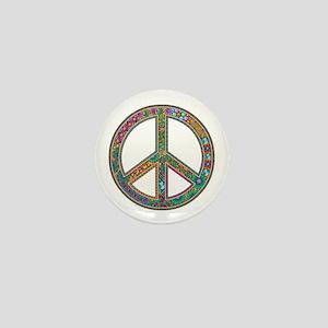 Peace Mini Button