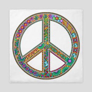 Peace Queen Duvet