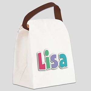 Lisa Spring11G Canvas Lunch Bag