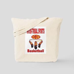 INTER-TRIBAL SPORTS BASKETBALL Tote Bag
