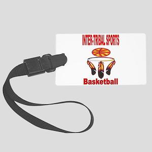 INTER-TRIBAL SPORTS BASKETBALL Luggage Tag