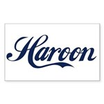 Haroon Sticker