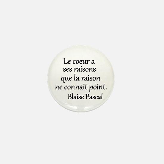 Coeur Pascal Mini Button