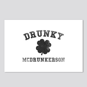 Drunky McDrunkerson Postcards (Package of 8)