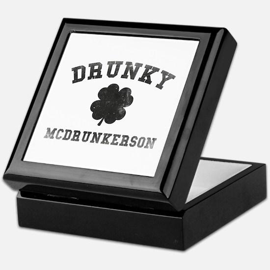 Drunky McDrunkerson Keepsake Box