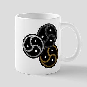 Tri-Colored BDSM Emblems Mug