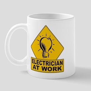 Electrician Bulb Mug