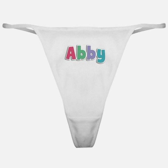 Abby Spring11G Classic Thong