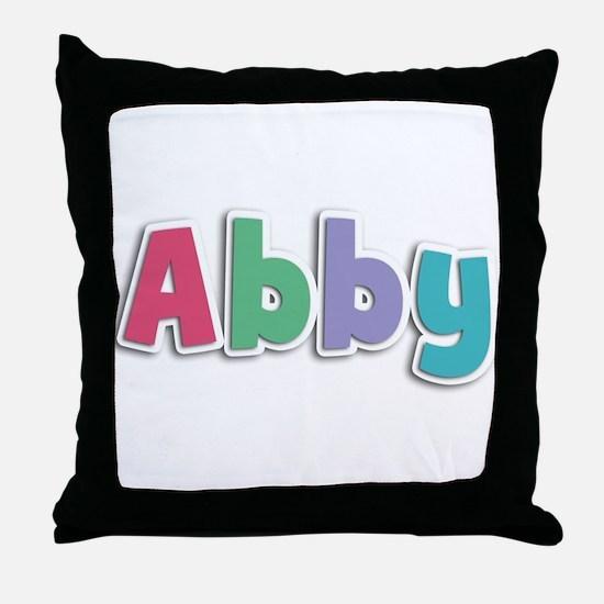 Abby Spring11G Throw Pillow