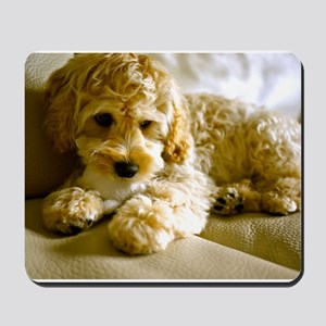 The Cockapoo Puppy Mousepad