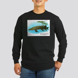 Northern Pike Long Sleeve Dark T-Shirt