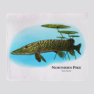 Northern Pike Throw Blanket