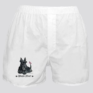 This Scottie Plays Nice! Boxer Shorts