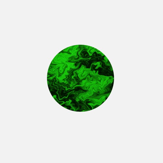 Green Random Design. Mini Button