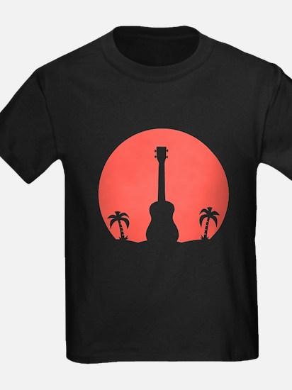Sunset Ukulele T-Shirt