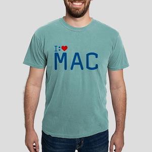 I Heart Mac Mens Comfort Colors Shirt