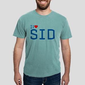 I Heart Sid Mens Comfort Colors Shirt