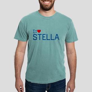 I Heart Stella Mens Comfort Colors Shirt