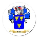 Beebe Round Car Magnet