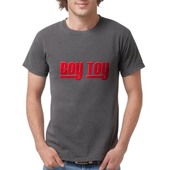 Boy Toy - Red Mens Comfort Colors Shirt