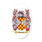 Bedwell Oval Car Magnet