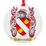 Bedrosian Round Ornament
