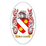 Bedrosian Sticker (Oval 10 pk)