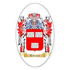 Bedman Sticker (Oval)