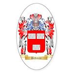 Bedman Sticker (Oval 10 pk)