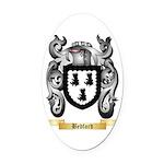 Bedford Oval Car Magnet