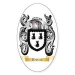 Bedford Sticker (Oval 10 pk)